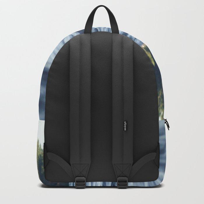Summer Forest Lake Backpack