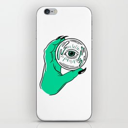 CRYSTAL BALL iPhone Skin