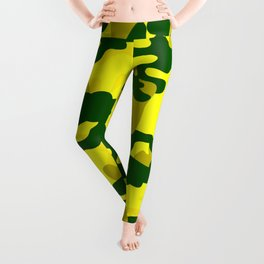 Camouflage (Yellow) Leggings