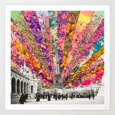 Vintage Paris Art Print
