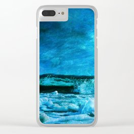 Amazing Nature - Ocean Clear iPhone Case
