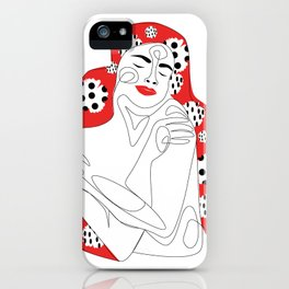 Embrace and Love Yourself iPhone Case