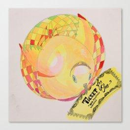 Ticket Turkey Canvas Print