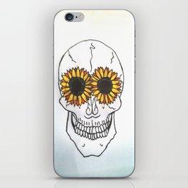 Smiling Skull iPhone Skin