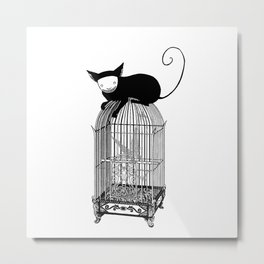 Cages Metal Print