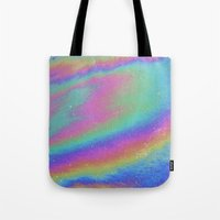 holographic Tote Bags featuring Holographic by Nestor2