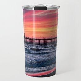 Surf City Sunsets   8/30/15   Huntington Beach California Travel Mug