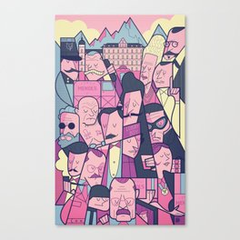 Grand Hotel Canvas Print