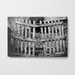 barred Metal Print