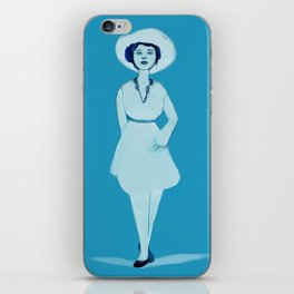 Lovely Lady II iPhone Skin