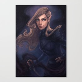 Feyre of the Night Court Canvas Print