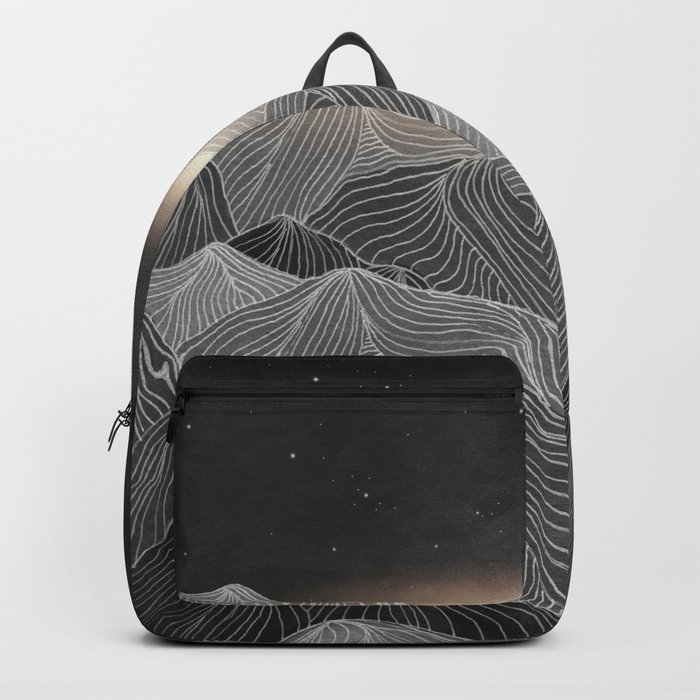 Lines in the mountains XIX Backpack