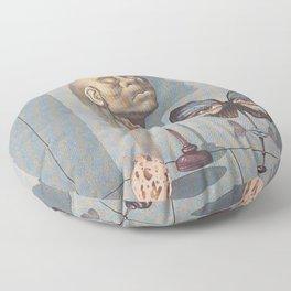 La limite 'O limite' Floor Pillow