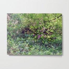 shiny greenery Metal Print