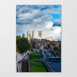 York City Walls and Minster Canvas Print