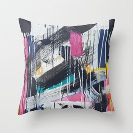 The Cover Up Throw Pillow