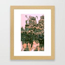 Discovering what is arround V Framed Art Print