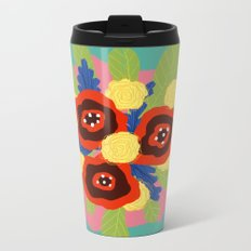 Bouquet #1 Metal Travel Mug