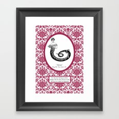 Those Who Seek Out Will Find Framed Art Print