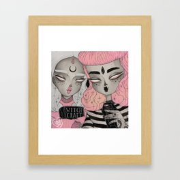 You Can Hex with Us Framed Art Print