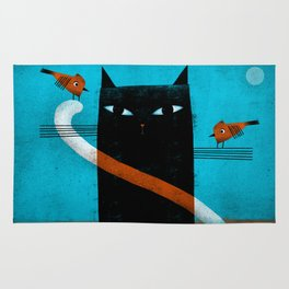 OFFSET WHISKERS Rug