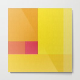 Colored composition IV Metal Print