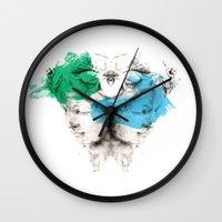 carousel Wall Clocks featuring Carousel by Rafael Igualada