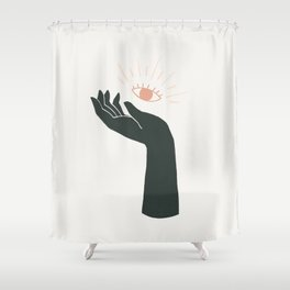 share your vision Shower Curtain