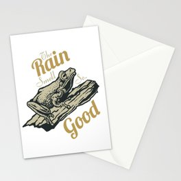 Frog for people who like animal, wild life and nature  Stationery Cards