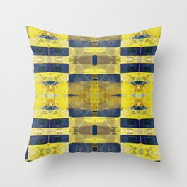 first sunrays_pattern_no2 Throw Pillow
