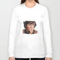 sam winchester Long Sleeve T-shirts featuring Jared Padalecki/Sam Winchester by Londonhazz