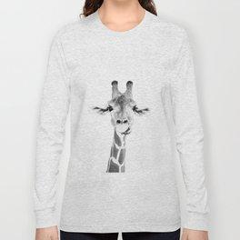Hey Giraffe Long Sleeve T-shirt