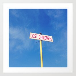 Lost children Art Print
