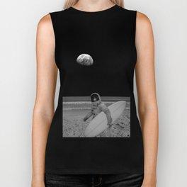 Moon surfer Biker Tank