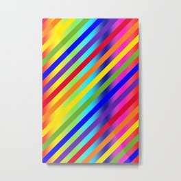 Equality 45 Multicolor Metal Print