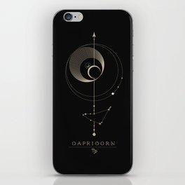 Capricorn Zodiac Constellation iPhone Skin