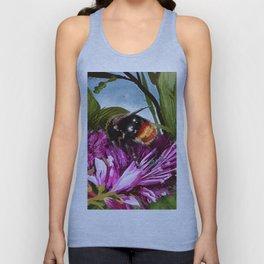 Bee on flower 9 Unisex Tank Top