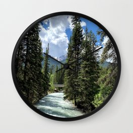 Canadian Bliss Wall Clock