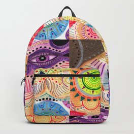 vibrant playful rhythm Backpack