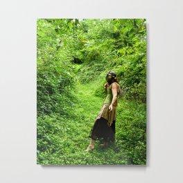 Down the Fairy Path Metal Print