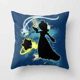 Super Smash Bros. Rosalina Silhouette Throw Pillow