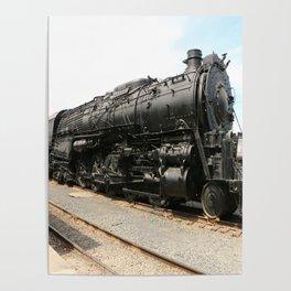 Steam Locomotive Number 5021 Sacramento Poster