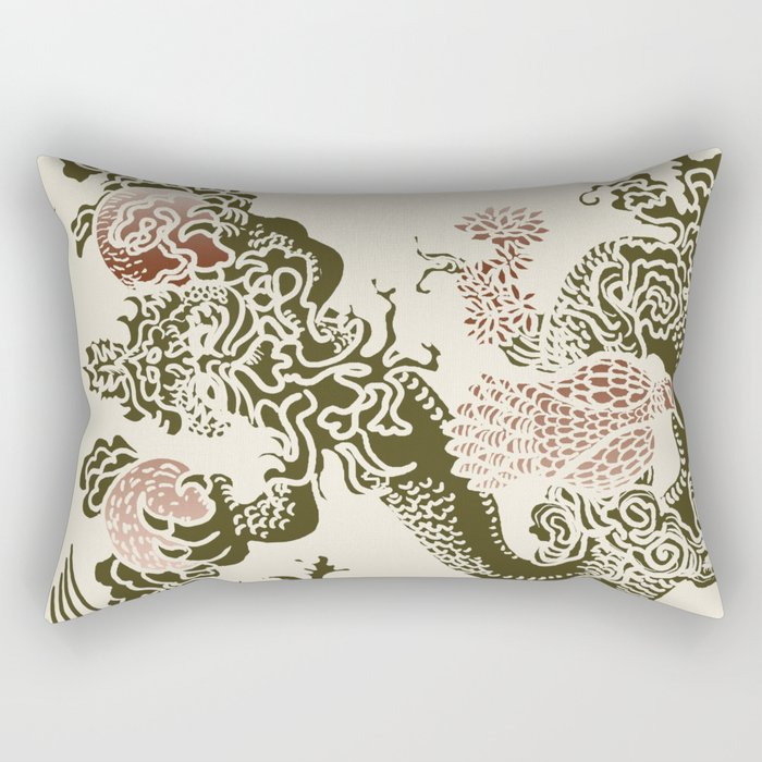 Shen-Lung Rectangular Pillow