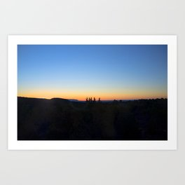 """Sunrise Moon"" Art Print"