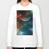universe Long Sleeve T-shirts featuring Universe by nicky2342