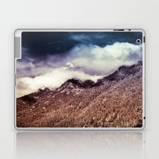 Mountains and Forest - Vintage Cascade Mountains Laptop & iPad Skin
