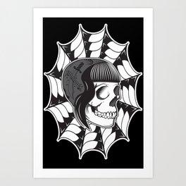 Sweetheart (Black) Art Print