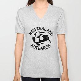 KIWI Aotearoa | New Zealand Unisex V-Neck