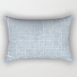 Chandler Map, USA - Slate Rectangular Pillow
