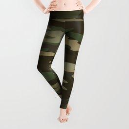 Military Camo Leggings